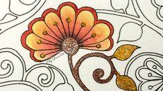 Secret Garden Coloring Book | How I color heart details | Jardim Secreto