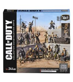 Mega Bloks Call of Duty Special Ops Task Force Construction Set 344 Pieces