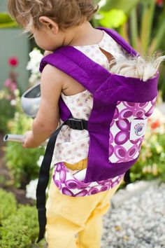 Doll Carriers are Back in Stock!  Order 1 doll carrier and get free shipping!  See post for details!