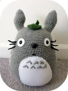 Totoro Amigurumi Crochet Stuffed Animal