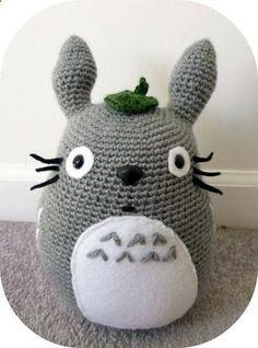 Totoro Amigurumi Crochet Stuffed Animal