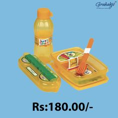 HAPPY TIME COMBO JUNIOR LUNCH CONTAINER. SET Shop for HAPPY TIME COMBO JUNIOR LUNCH CONTAINER SET Online at Grahakji.com#Lunchbox #tiffinbox #containerset #online #shopping #kitchen #accessories #grahakji #CombOffers #Offers #Discount
