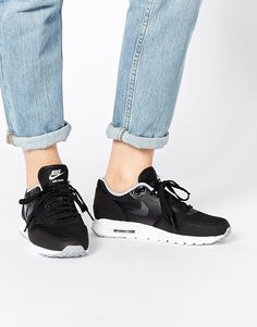 9399840156236 Shop Nike Air Max Essentials Black   Grey Trainers at ASOS.