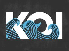Waves + Typography = What could go wrong? A simple exploration and logo creation for a group of friends.   Summer is just around the corner...