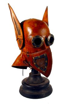 """Steampunk Batman Mask"" By Bob Basset."