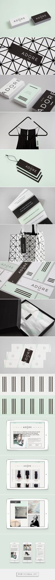 db7a55bf0 Blok hangs up another great brand identity, this time for luxury retailer Suite  Adore | Creative Boom... - a grouped images picture