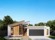Named after one of the most popular waterfalls in the Otways, this large family home is cleverly designed around outdoor living. A central courtyard anchors the Outdoor Living, Outdoor Decor, Home And Family, Floor Plans, Australia, Homes, Flooring, House Styles, Design