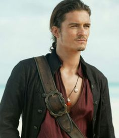 I cannot view him as anything else but a hot sexy pirate.