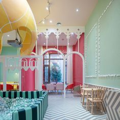 parents no longer have to worry about their children running amok at the neobio kids restaurant
