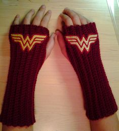 Hey, I found this really awesome Etsy listing at https://www.etsy.com/listing/165813790/wonder-woman-dc-comics-arm-warmers