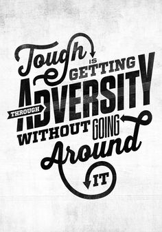 Brawny Wounded Warrior Project - Luke Lucas – Typographer | Graphic Designer | Art Director. Great quote, fantastic typography!
