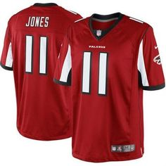 4b4a516d8ef Nike Julio Jones Atlanta Falcons Red Team Color Limited Jersey - CALL TO  ORDER