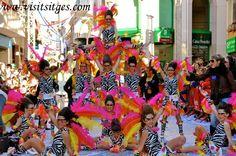 Rua Infantil del Extermini, Sitges Carnaval 2013