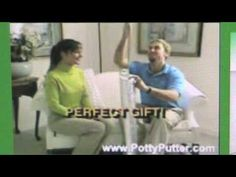 Potty Putter TV Commercial .....Genius idea right there...