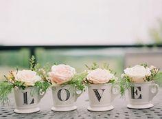 pink penoies in anthro mugs spelling Love