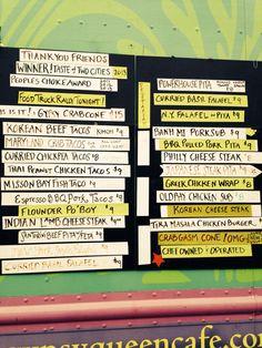 gypsy menu