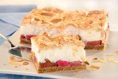 Przepis na Migdałowe ciasto z rabarbarem