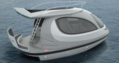 Coolest mini yacht ever! The Jet Capsule