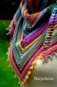 Beautiful Scarf with Bright Colors ❤