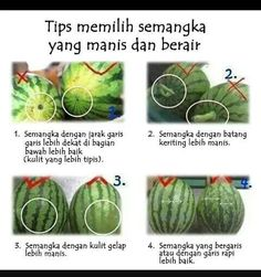 Tips selecting sweetest watermelon