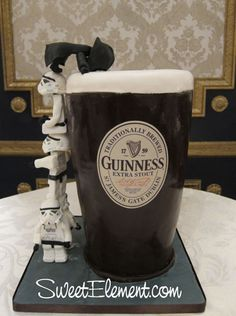 a Starwars/Guinness grooms cake!