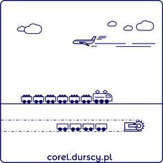 Transport (detale tryptyku) #corel_durscy_pl #durskirysuje #corel #coreldraw #vector #vectorart #illustration #draw #art #digitalart #graphics #flatdesign #flatdesign #icon #przemysł #fabryka #kopalnia #industry #factory #mine #kombajm #tryptyk #triptych #silesia #slask #detail #trein #plane #airplane #carbon Transportation, Math Equations, Map, Illustration, Location Map, Illustrations, Maps