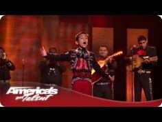 "Young Mariachi ""El Charro de Oro"" - #AGT Season 7 - Sebastien Las Vegas Performance  / America's Got Talent"