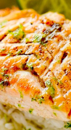 Grilled Salmon with Habanero-Lime Butter | Food & Drink | Pinterest ...