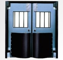 Durulite Postal-Security 200 Door (Double Acting Impact) Chase security doors are specifically designed and manufactured to be tough and dependable. They are strong enough to withstand punishing personnel-ridden vehicle traffic, yet lightweight enough to open easily, operate smoothly and allow for damage free, safe passage for personnel and equipment.