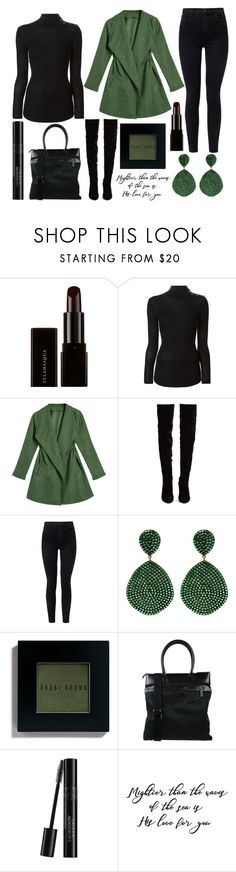 """""""have a great day ❤❤"""" by j-n-a ❤ liked on Polyvore featuring Illamasqua, Balmain, Christian Louboutin, J Brand, Bobbi Brown Cosmetics, Armani Collezioni and Christian Dior"""