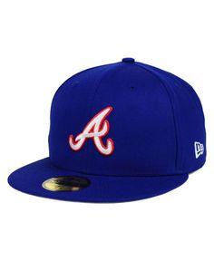 New Era Atlanta Braves Mlb Cooperstown Cap - Blue 7