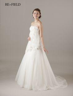 FIELD One Shoulder Wedding Dress, Wedding Dresses, Fashion, Bride Dresses, Moda, Bridal Gowns, Fashion Styles, Weeding Dresses, Wedding Dressses