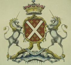 Detail from the arms of Windsor, Earls of Plymouth & Barons Windsor of Badenham