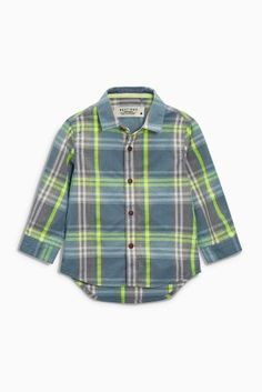 Buy Grey Check Shirt (3mths-6yrs) online today at Next: United States of America