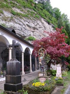 St. Peter's Cemetery and Catacombs  Saltzburg, Austria  This was the most amazing trip I made in Germany! The Church history was so rich!