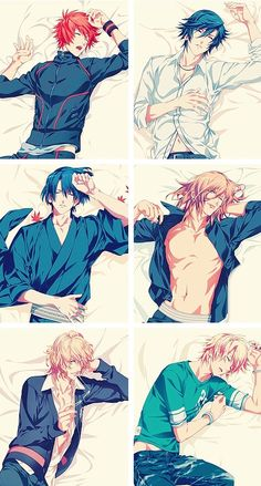 Uta no Prince sama. Sometimes I get really sad looking at how beautiful they are compared to real men