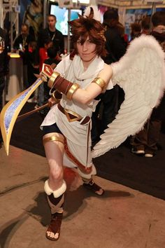 Pit fom Kid Icarus: Uprising   Gotta love Pit <3  This is my halloween costume, to some extent. :3