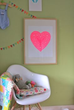 heart art by Not on the High Street