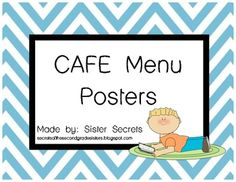1000+ images about Reading File on Pinterest   Running records, Cafe ...