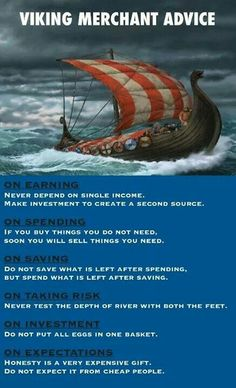 Viking merchant advice