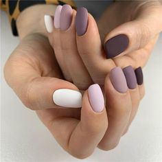 35 Chic Summer Matte Nails Art Designs You Must Try In 2020 – Page 5 – Nailmon Simple Acrylic Nails, Fall Acrylic Nails, Simple Nails, Fall Nails, Winter Nails, Summer Nails, Matte Nails, Pink Nails, My Nails