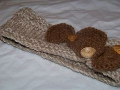 Circle Headband with wood buttons on Etsy, $15.00
