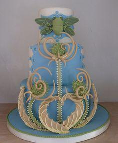 Cicada Wedding Cake by Karen Portaleo/ Highland Bakery, via Flickr