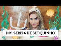 Como fazer coroa de sereia | Lu Ferreira - YouTube