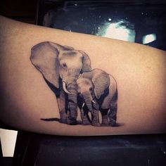 Elephant tattoos More
