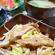 せせりと野菜の炒め物他… - 41件のもぐもぐ - 晩御飯 by yukimaru218