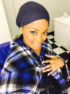 Makoti In Blue Basotho Blanket and Shweshwe Dress for 2019 - Fashionre African Traditional Wedding, Traditional Dresses, Xhosa Attire, Shweshwe Dresses, African Fashion, New Fashion, Wedding Hairstyles, Bride