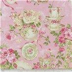 Floral & Dots on Cream Fabric   Shop Hobby Lobby