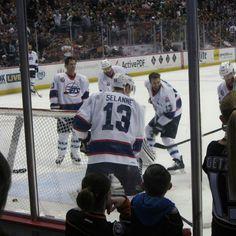 #NHLJets wore Teemu's Jersey during warmups #For8verTeemu