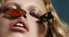 Sean and Seng - Plein Sud Beauty Photography, Fashion Photography, Butterfly Kisses, Butterflies, Butterfly Wings, Peach And Green, Photo Retouching, Fashion Shoot, Hair Beauty